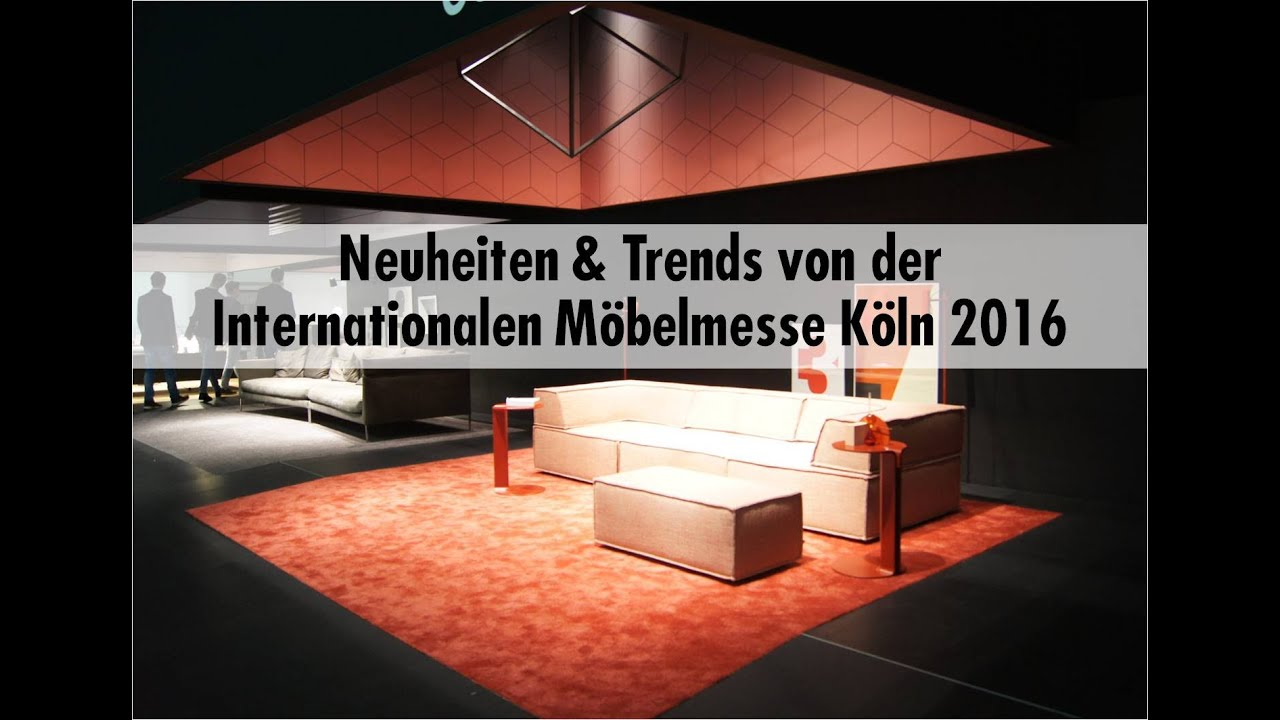 einrichten schweigert neuheiten und trends von der imm cologne 2016 youtube. Black Bedroom Furniture Sets. Home Design Ideas