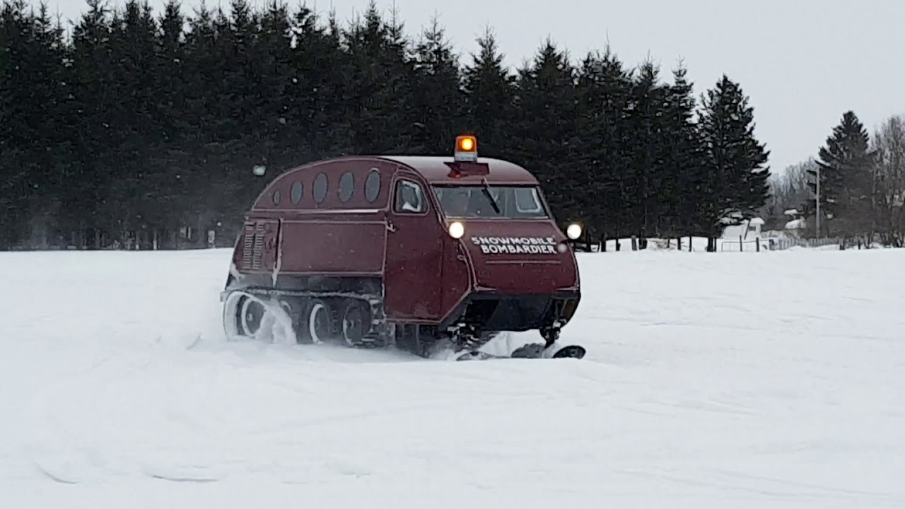 Autoneige neige en fête 2017 autoneige b12 - youtube