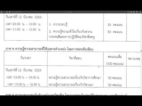 สพฐ. (สพป.ตรัง เขต 1) เปิดรับสมัครสอบข้าราชการ 15 ก.พ. -21 ก.พ. 2559