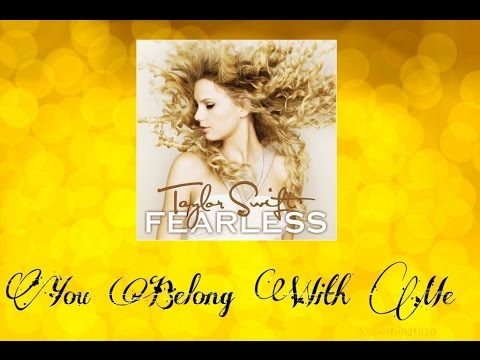Taylor Swift - You Belong With Me (Audio Official)