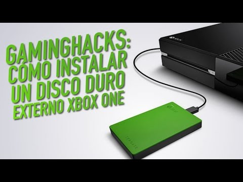 Gaming hacks c mo instalar un disco duro externo xbox one for Ssd esterno xbox one