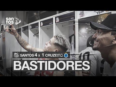 SANTOS 4 X 1 CRUZEIRO | BASTIDORES | BRASILEIRÃO (23/11/19)