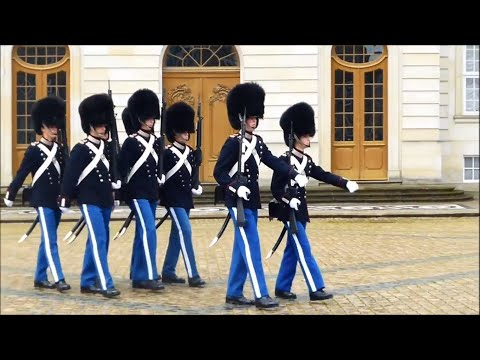 Changing of the Guards, Copenhagen
