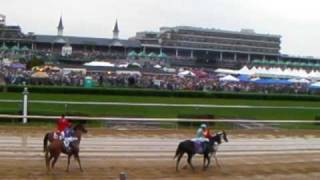 Kentucky Derby 2009 from the backside of Churchill Downs