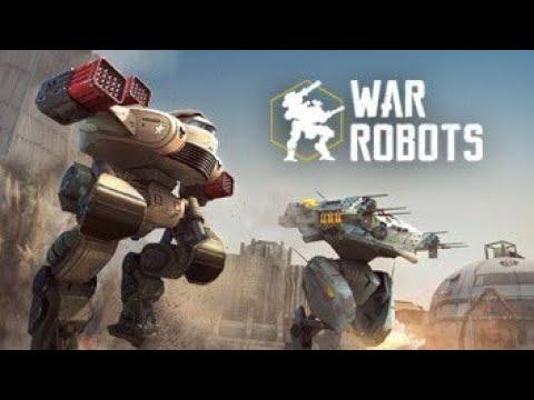 War robots Vs battle of titans - YouTube