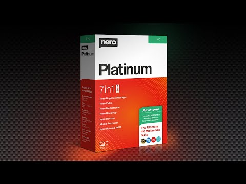Nero Platinum 2020 Review.What S New In The Nero Platinum Suite V 2020 Youtube
