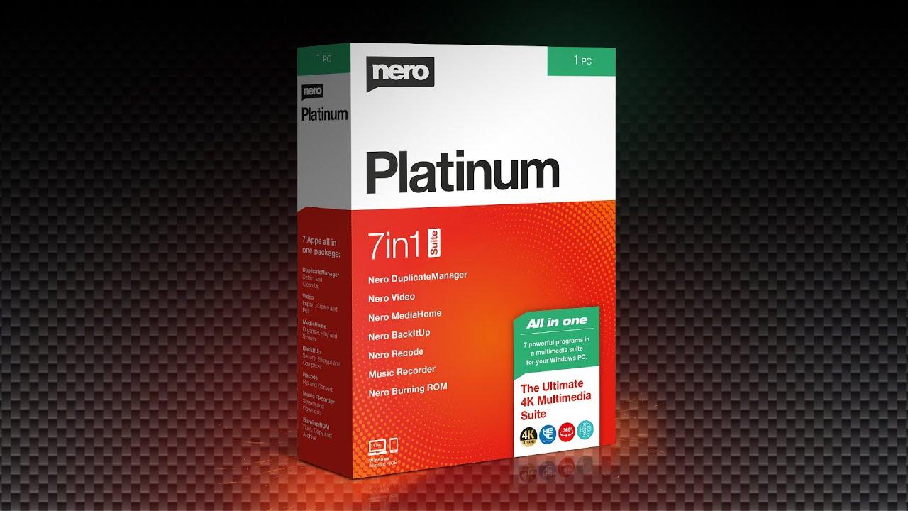 Nero Platinum 2020 Review.What S New In The Nero Platinum Suite V 2020