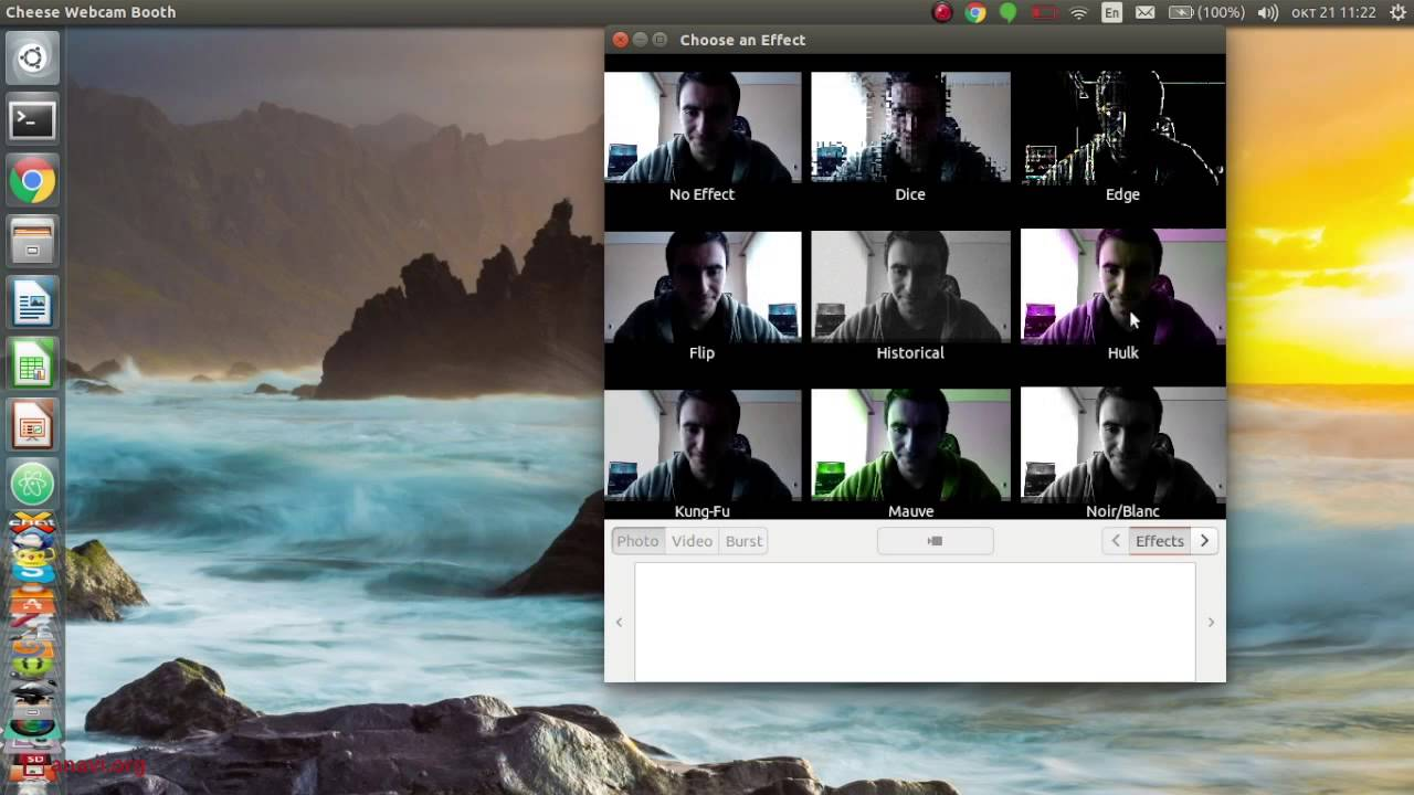 Linux Webcam Recording with Cheese and Logitech C920