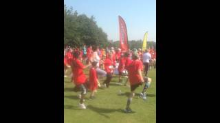 South Yorkshire Games 2015 Warm up
