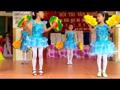 Múa Mái Trường Mến Yêu Lớp 3a7 - Trường Tiểu Học Tam Hiệp