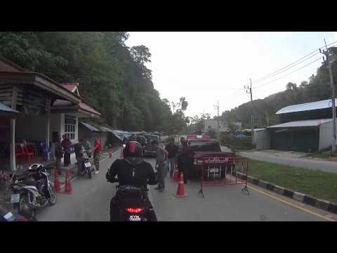 Cross Border at Wang Kelian Perlis heading to Satun Thailand