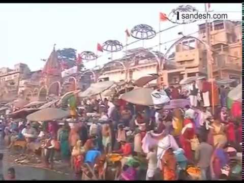 Devotees take holy dip on Magh Purnima in Varanasi