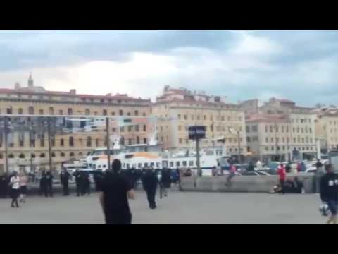 France 2016: England vs muslims in Marseille 2016.06.10.
