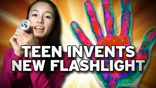 Teen Invents Flashlight Powered By Body Heat!