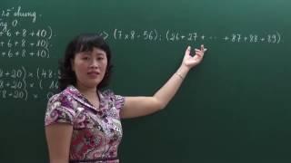 Tính nhanh phần 2 - Bồi dưỡng Toán 3 - Cô Nguyễn Thị Hoa - HOCMAI