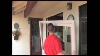 Milgard Z-Bar Replacement Window Installation