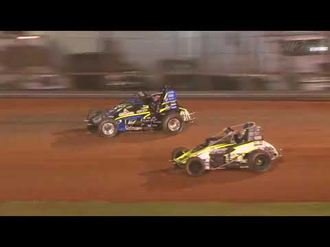 USAC AMSOIL National Sprint Feature Highlights | Bloomington Speedway 4.27.18