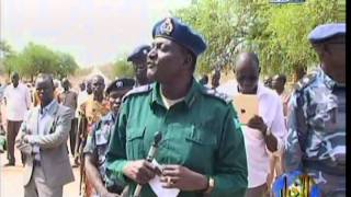 The withdrawal of police from South Sudan Abyei