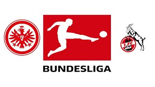 Eintracht Frankfurt vs 1. FC Köln Highlights / Bundesliga 6. Spieltag 2021/22