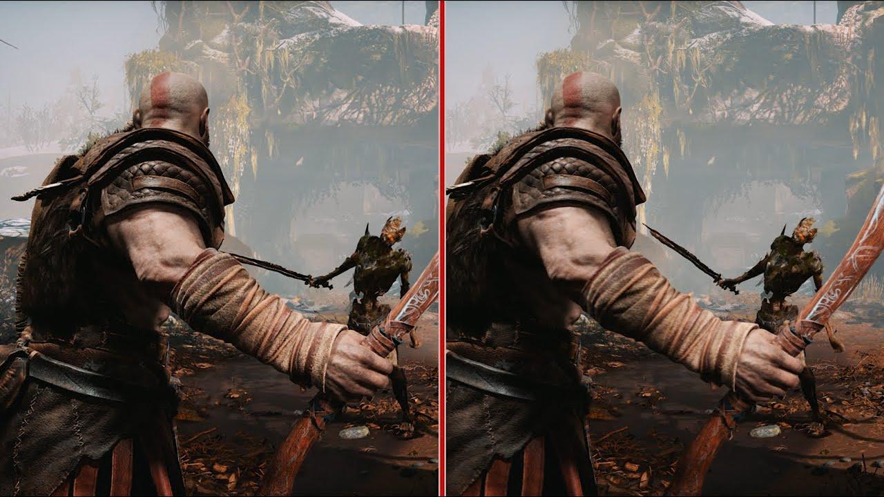 God of War Graphics Comparison: Performance vs  Resolution at 4K 60fps