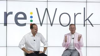 Eric Schmidt & Laszlo Bock talk at re:Work