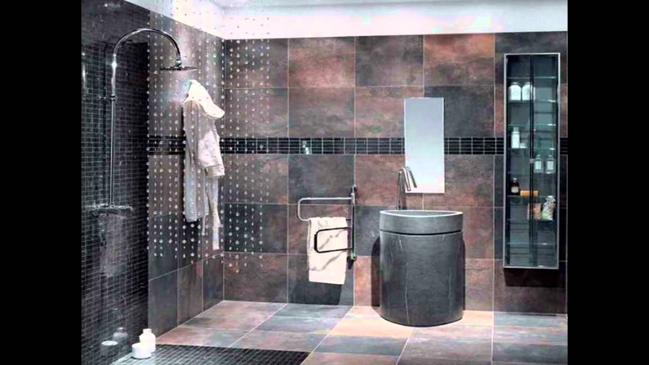 Amazing Cool Modern Slate Tile Bathroom Designs Pictures ...