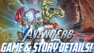 Marvel's Avengers: NEW Story & Game Details!!! Ending SPOILERS, Control LAYOUT, & More!!!