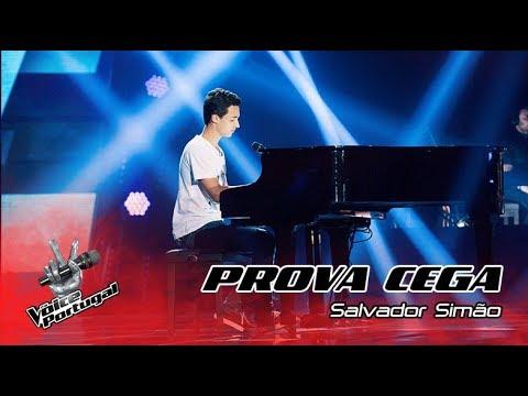 """Salvador Simão - """"Give Me Love""""  Prova Cega  The Voice Portugal"""