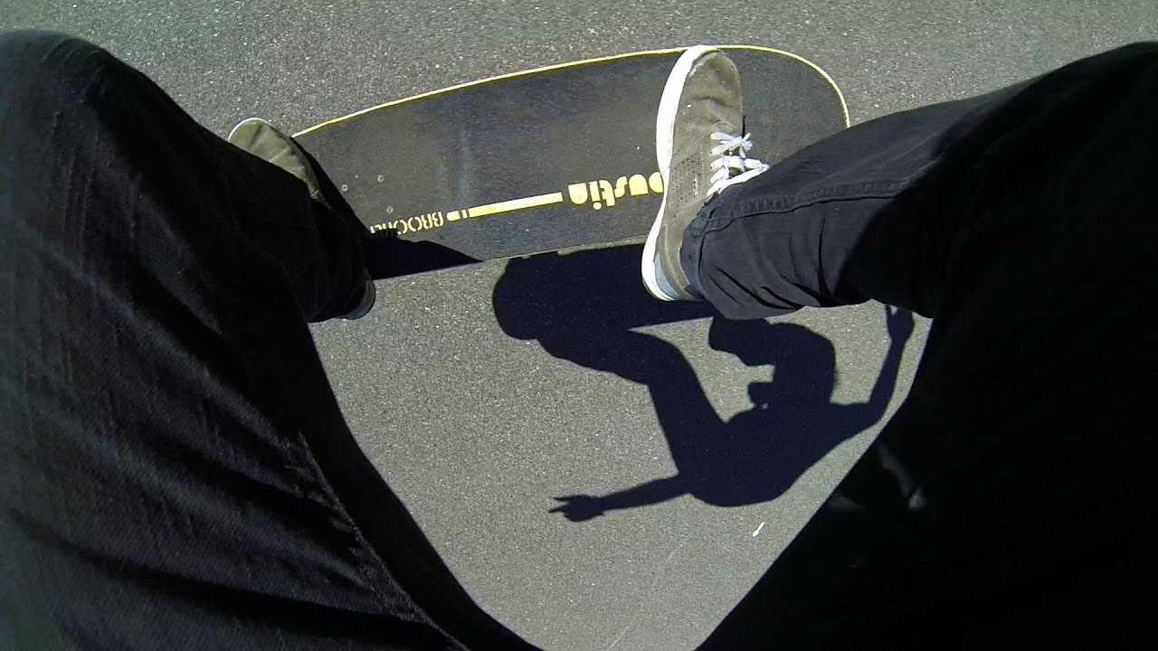 How to Do a Fakie Ollie