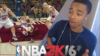 ANKLE BREAKER OF THE YEAR! NBA 2K16 Giant Players VS Tiny Players REACTION! NBA2K Challenge Edition