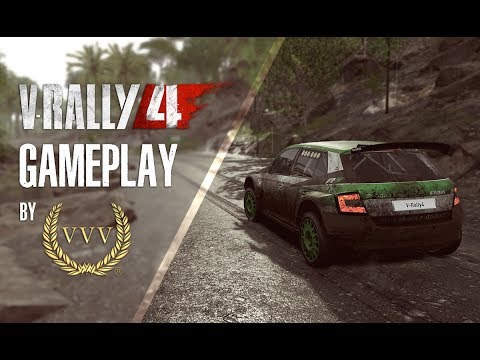 V Rally 4 Rally Malaysia Gameplay By Team Vvv Youtube