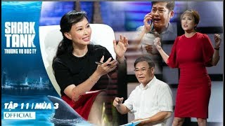 Shark Tank Việt Nam : Thương Vụ Bạc Tỷ Mùa 3 Tập 11 Full HD