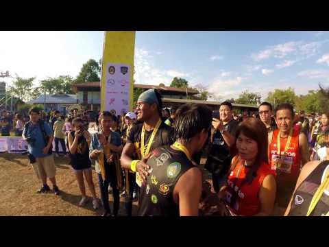 Amazing Thailand Buakaw Country Marathon 2017 Surin Thailand