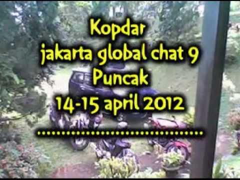 Jakarta Global Chat 9 ~ Kopdar Puncak ~ white ~ Pangeran Kramat Jati