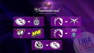 VG Vs EG  - The International 9 | Group Stage Day 2