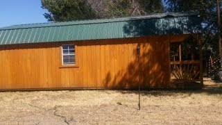 14x32 old hickory shed to tiny home