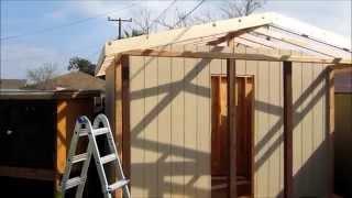 How To Build A Pigeon Loft (part 3)