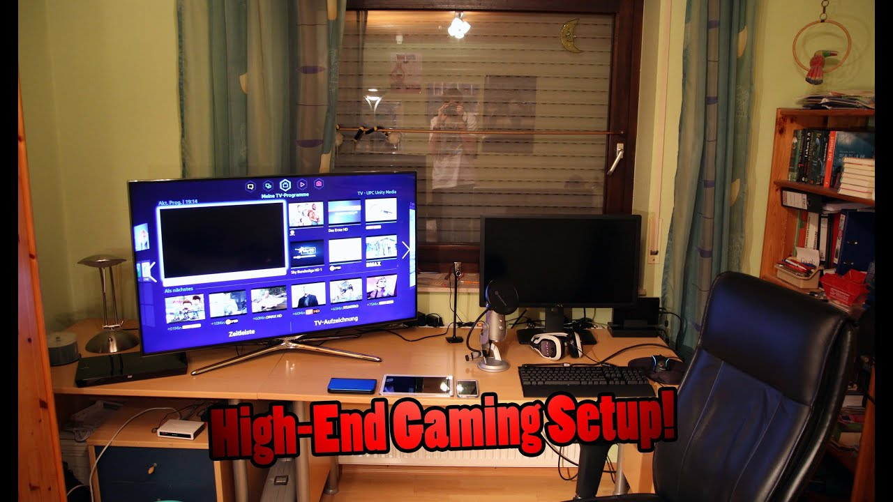 Mein High End Gaming Pc Setup 2014 Deutsch 1080p