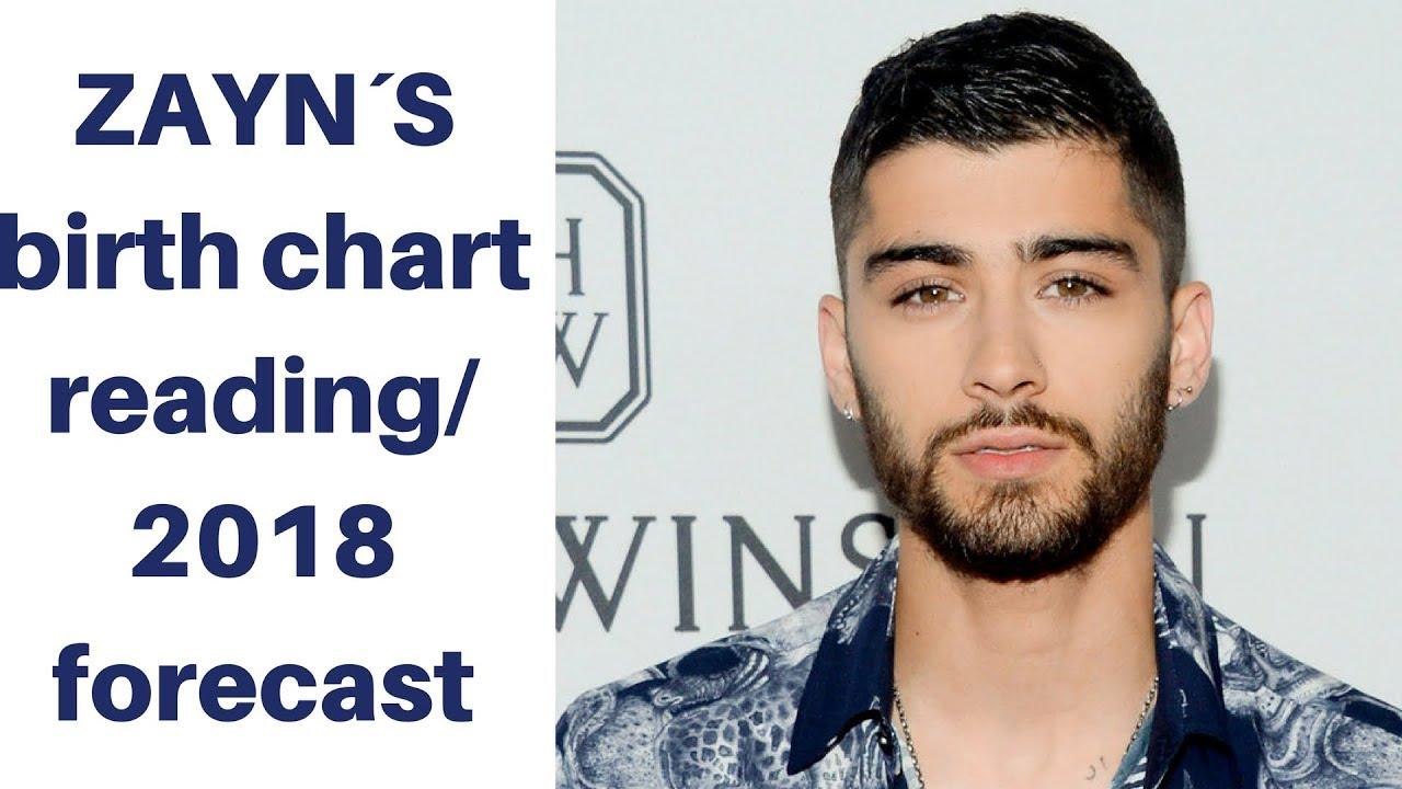 Zayns Birth Chart Reading 2018 Forecast Youtube