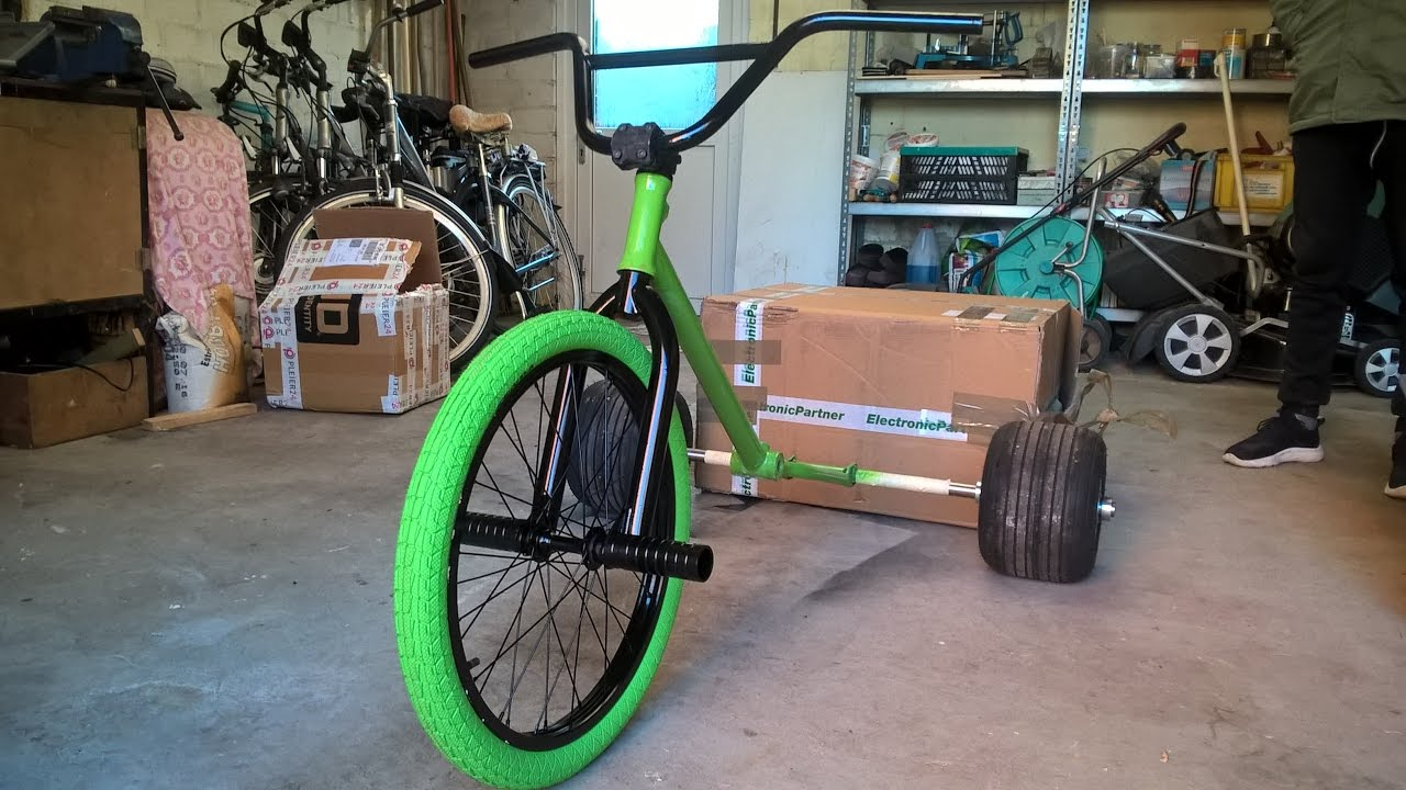 how to build a homemade drift trike youtube. Black Bedroom Furniture Sets. Home Design Ideas