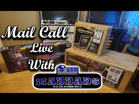 Arcade1up  MK Legacy Cabinet Unboxing and Setup Live with UAG from MadDadsGaming