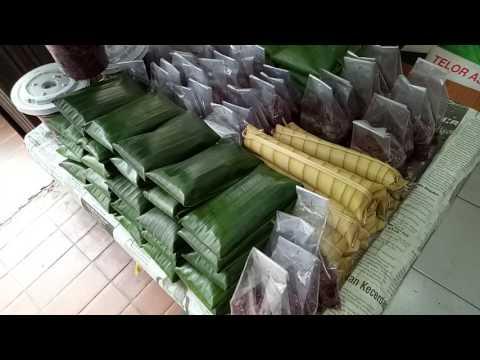 Indonesian Street Food - Tapai Tape Uli dan Lepet - Traditional Indonesian Snacks