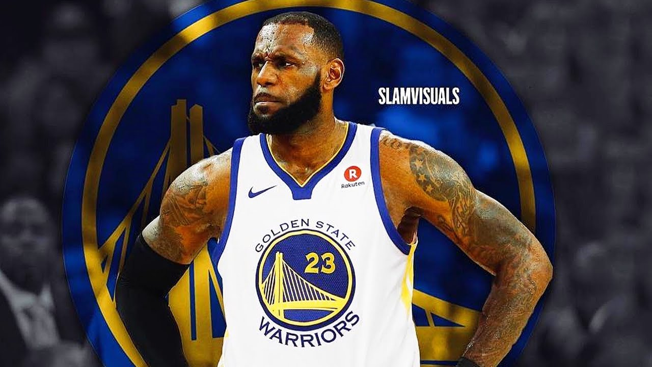 buy online eb183 ea3e8 LeBron James Joins Golden State Warriors After Christmas Day Loss (Parody)