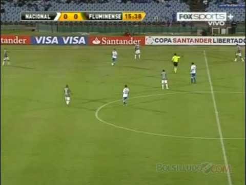 Nacional 2-0 Fluminense / 1er Tiempo / Copa Libertadores 2011