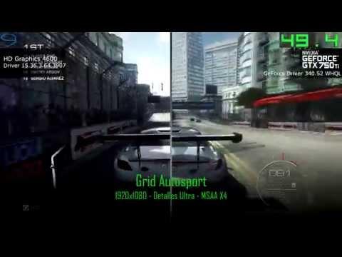 Comparativa PCMR Argentina - Intel HD Vs GTX 750Ti