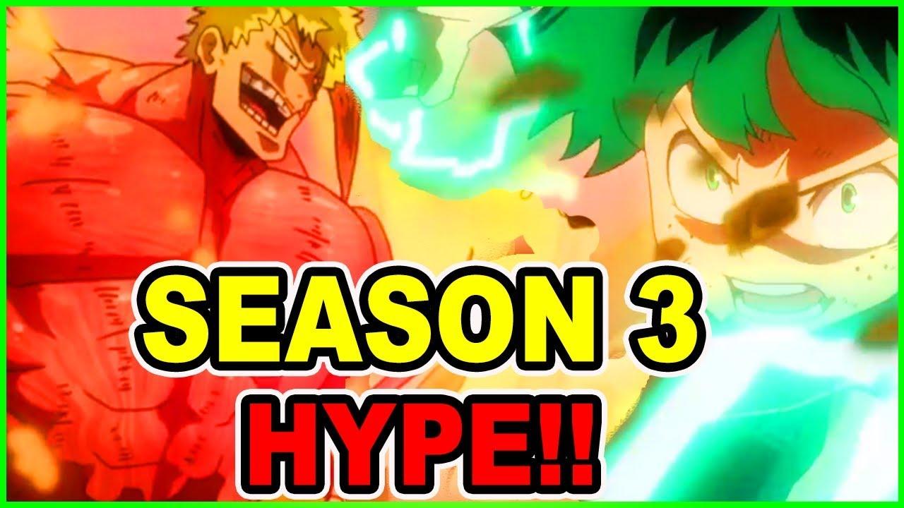 DEKU & ALL MIGHT RETURN! HYPE!! My Hero Academia Season 3 Episode 1   My Hero Episode 39