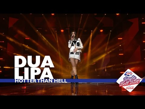 Dua Lipa - 'Hotter Than Hell' (Live At Capital's Jingle Bell Ball 2016)