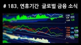 [J_TV] #183. 연휴기간 글로벌 금융소식 & 시장분석