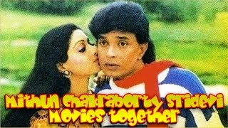 Mithun chakraborty sridevi movies together : bollywood films list