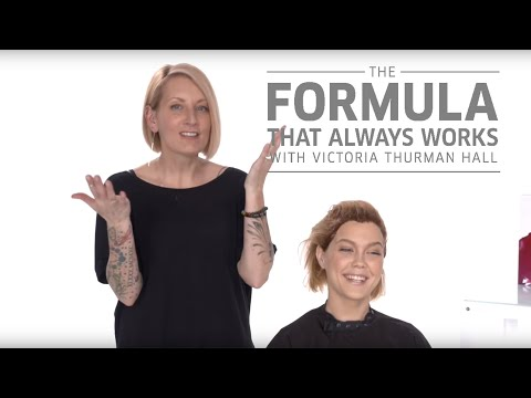 Copper Hair Color Tutorial with Illumina by Victoria Thurman Hall